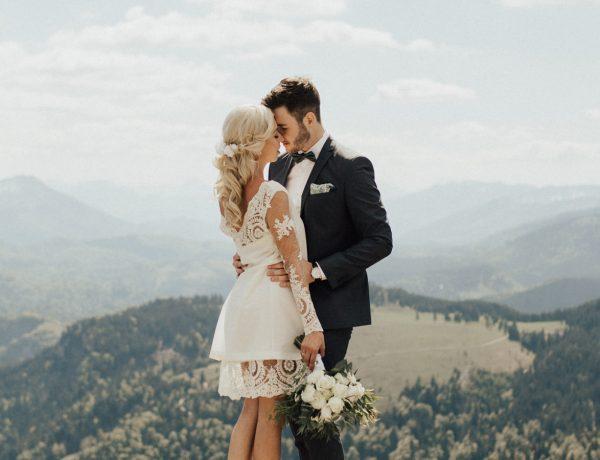Boho Hochzeit in den Bergen von Niederösterreich