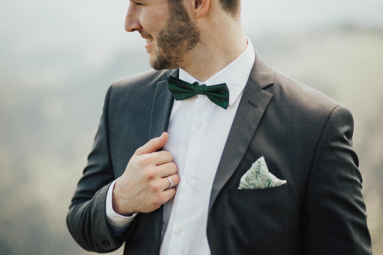 Porträt vom Bräutigam