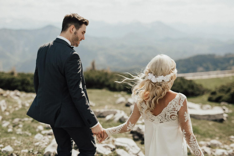 entspannter Hochzeitstag in den Bergen