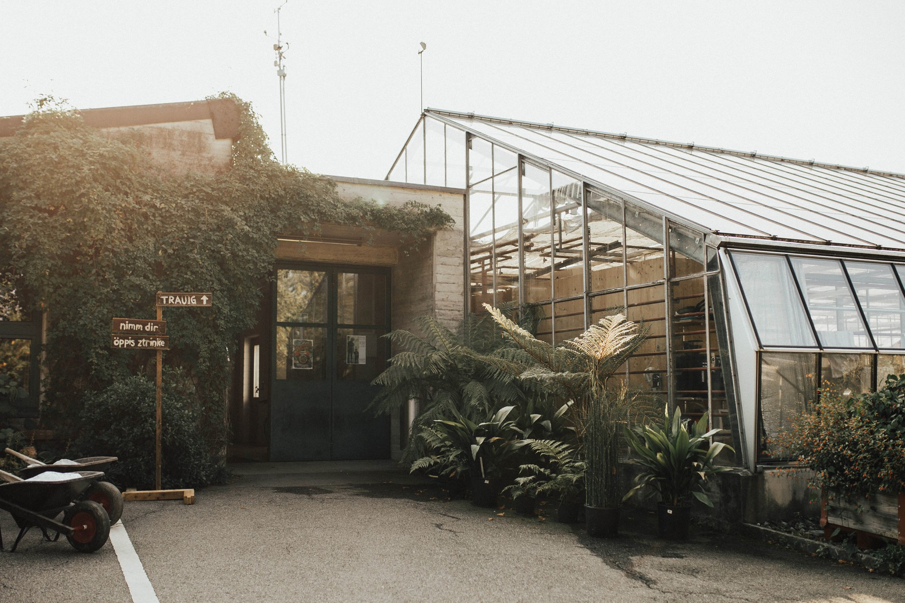 greenhouse wedding location zurich