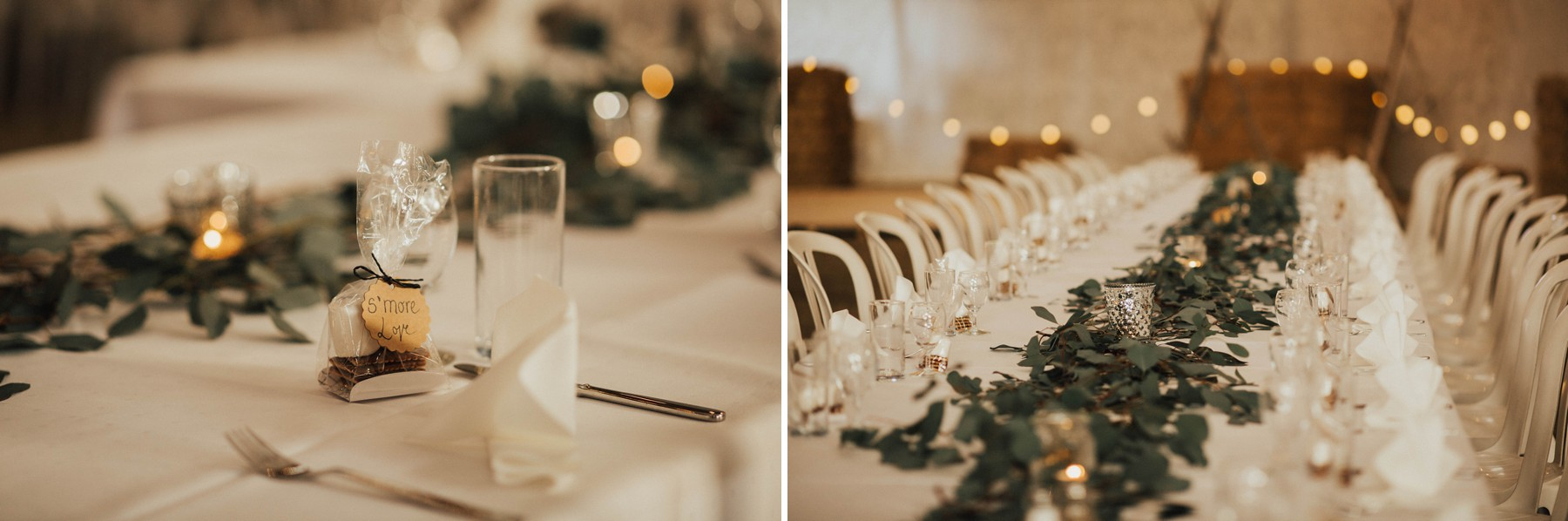 beautiful minimalism wedding decoration