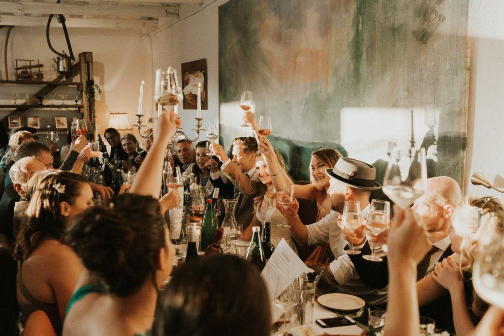 Hochzeitsfeier in Linz