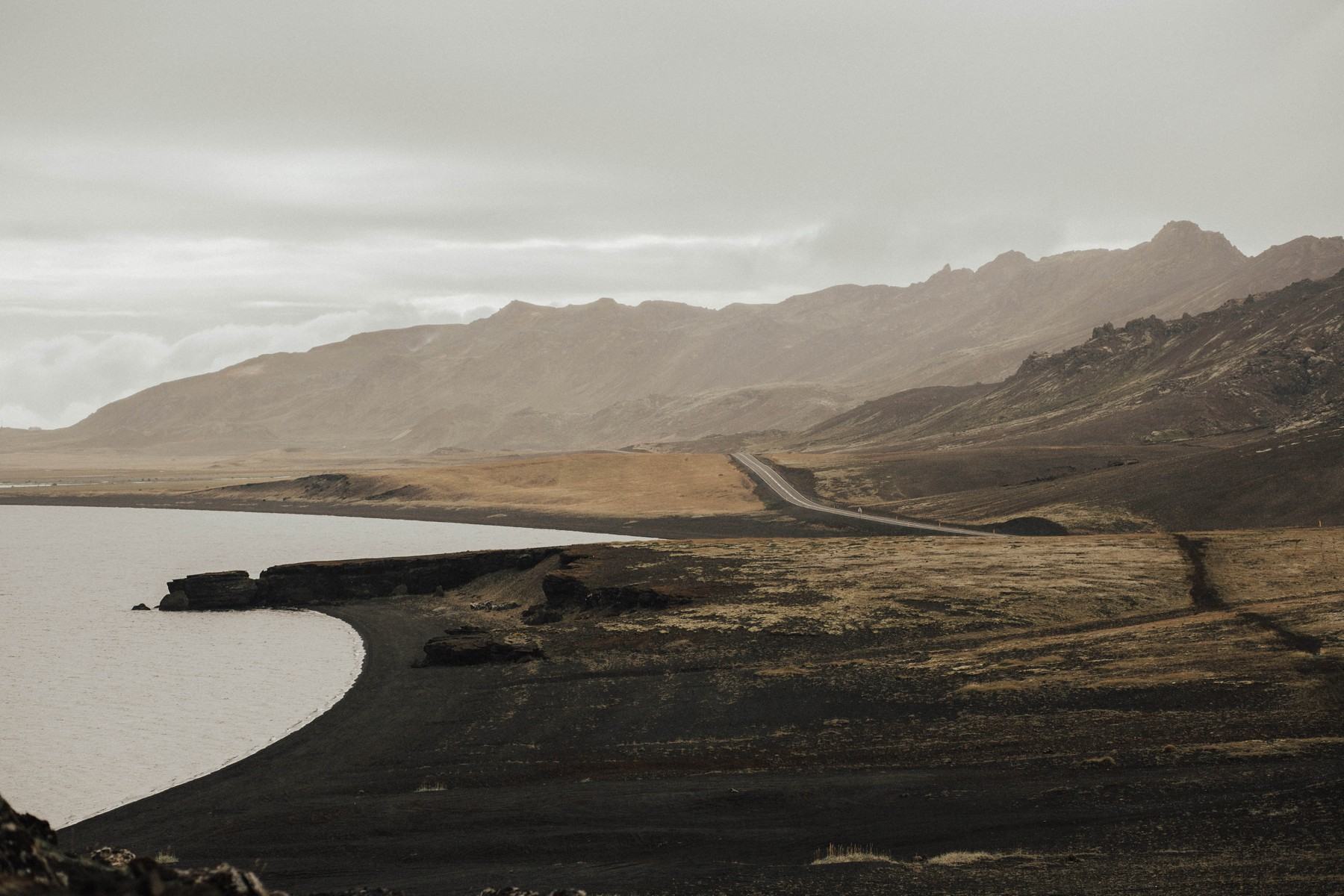 vast icelandic landscape