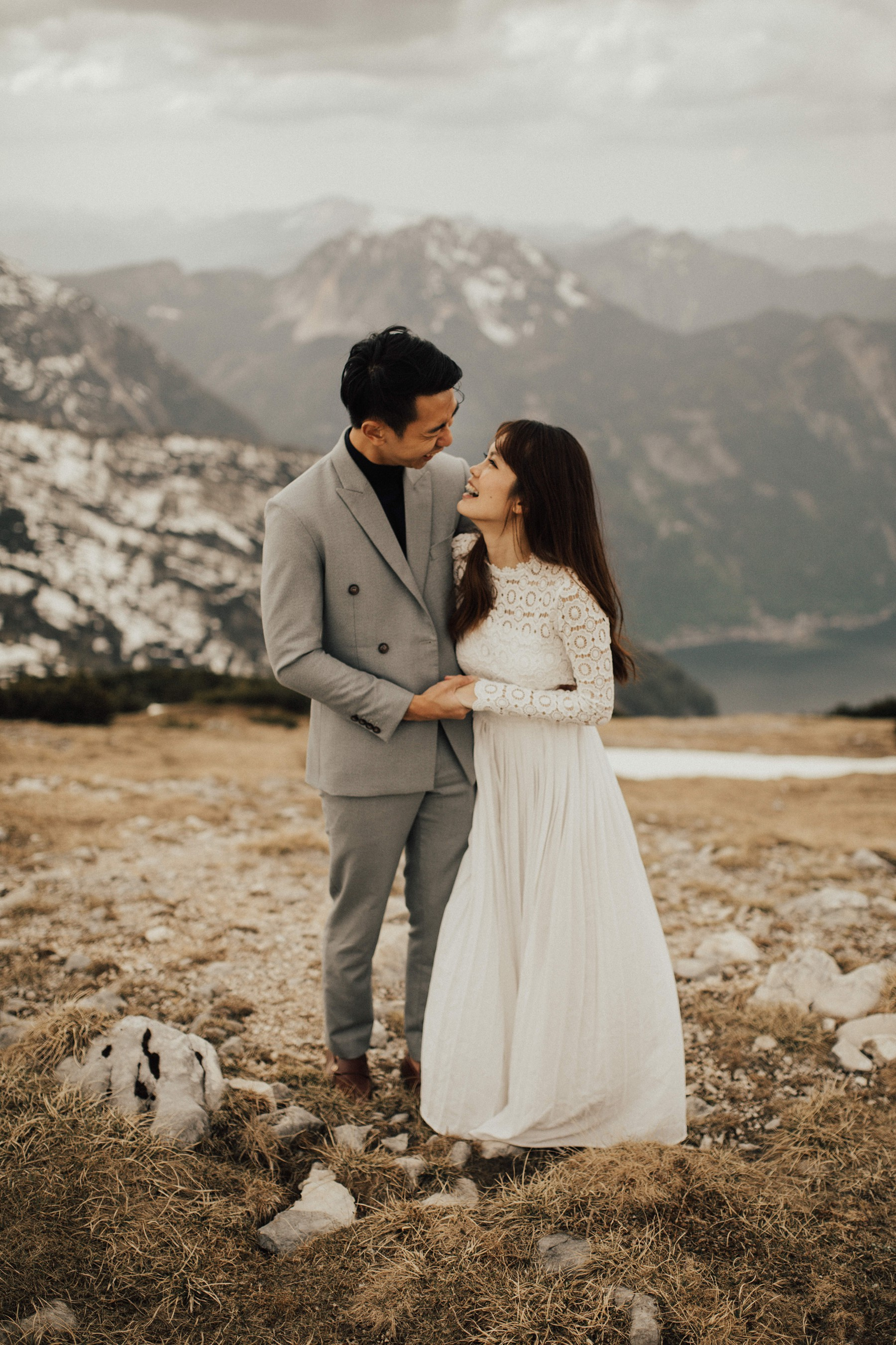 Engagement Photos on Dachstein Krippenstein