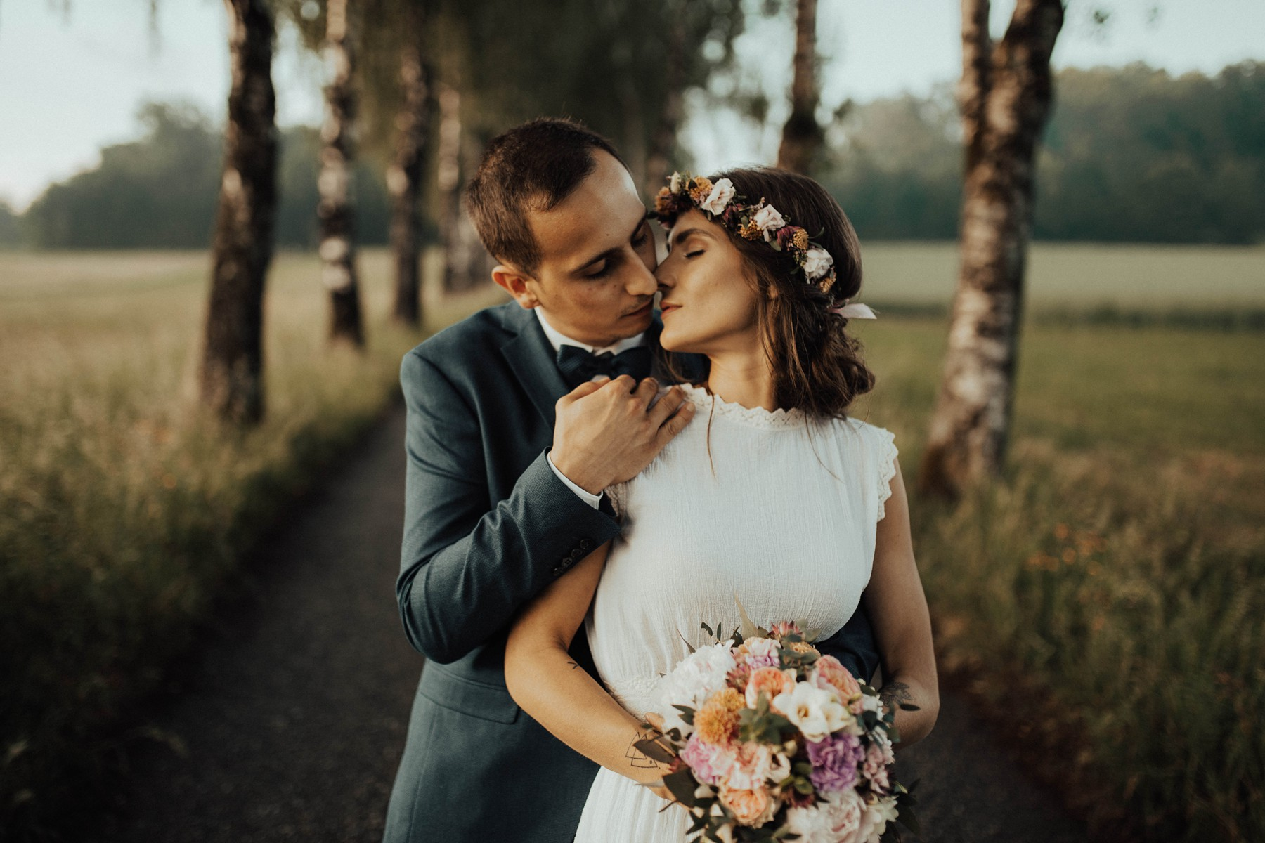 Bohemian Hochzeit am Vedahof Nähe Linz