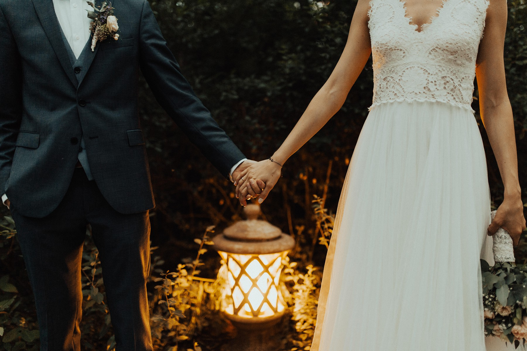 Braut und Bräutigam Details
