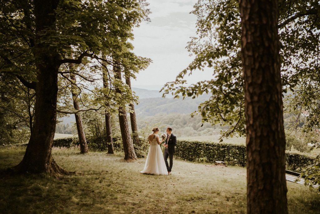 Hochzeitsfotos am Pöstlingberg in Linz